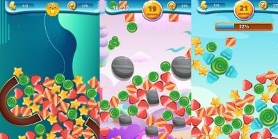 Sweety Shapes - Match-3 Unity Source Code