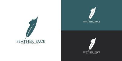 Feather Face Logo