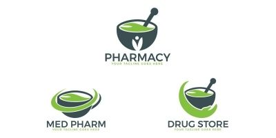 Pharmacy Medical Logo Design