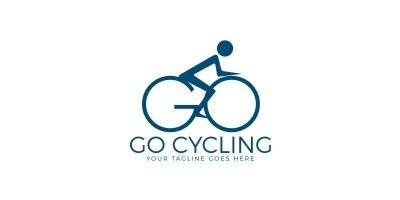 GO Bicycle Logo Design