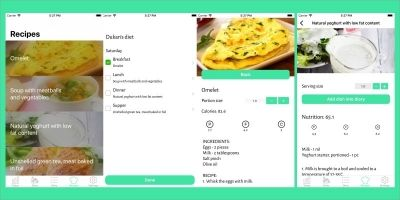Fitness And Meals - iOS Source Code