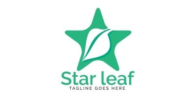 Star Leaf Logo Design