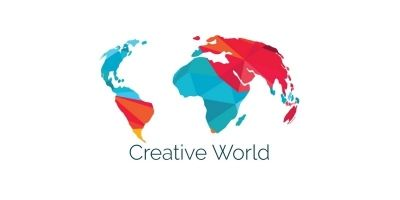 Creative World Map Vector Design