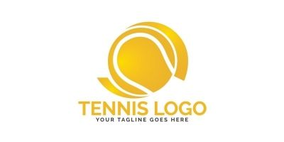 Tennis Sport Logo Design