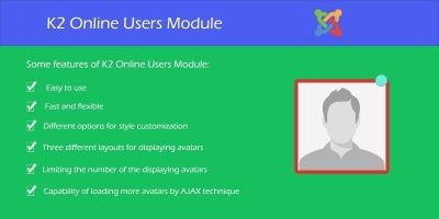 K2 Online Users - Joomla Module