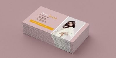 Elegant Fashion Business Card