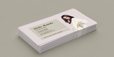 Simple Fashion Business Card