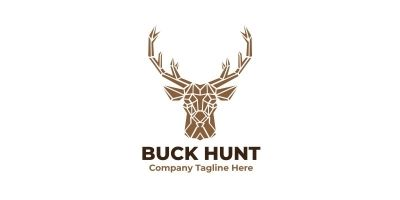 Buck Hunt Logo Template