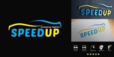 Speedup Logo Template