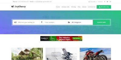 JoyClassy - Complete Classified Ads Script