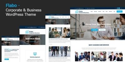 ​​Flabo - Corporate WordPress Theme