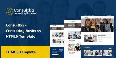Consultbiz - Consulting Business HTML5 Template