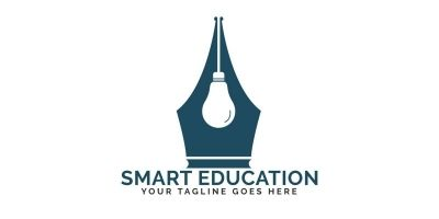 Smart Education Logo Design