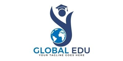 Global Education Logo Design