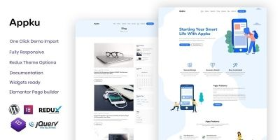Appku - App Landing WordPress theme