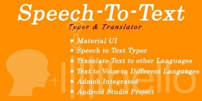 Speech To Text - Android Source Code