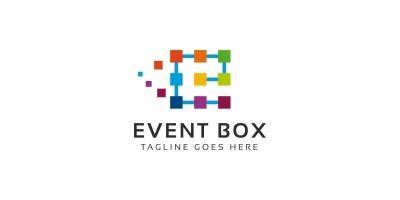 Event Box E Letter Logo