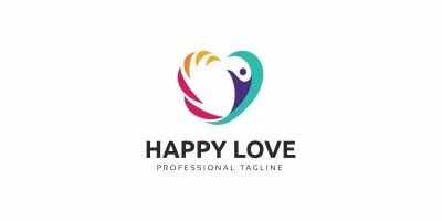 Human Happy  Logo