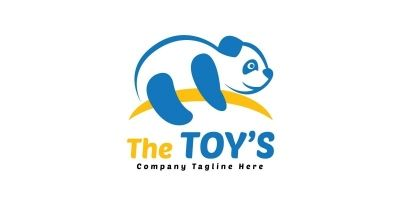 The Toys Logo Template