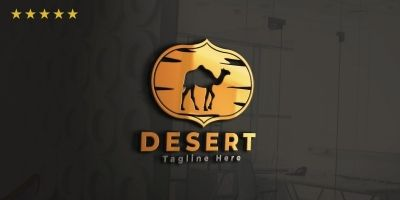 Desert Logo Template