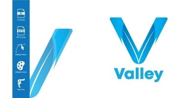 Valley Logo Template