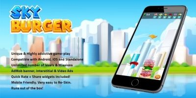 Sky Burger - Complete Unity Project