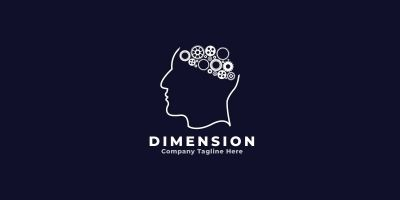 Dimension Logo Template