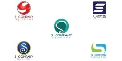 Simple S-logo Design Template