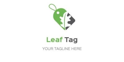 Leaf Sales Tag Logo
