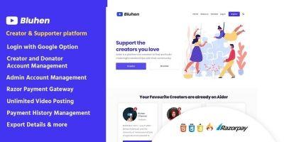 Buhen - Crowd Funding  PHP Script