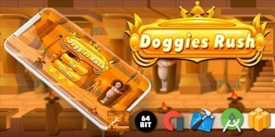 Doggies Rush - Buildbox Template