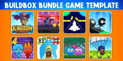 Bundle 8 Buildbox Game Template