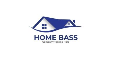 Home Bass Logo Template