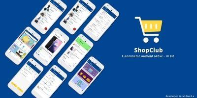 Android Native E-Commerce UI Kit