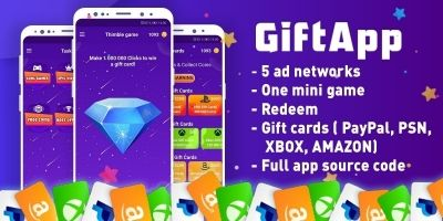 Gift App – Reward App And Free Gift Cards Androi