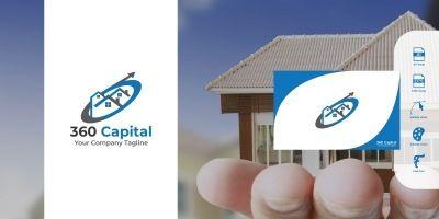 360 Capital Logo Template