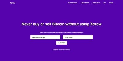 Xcrow - Bitcoin Exchange Script