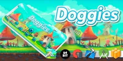 Doggies - Buildbox Template