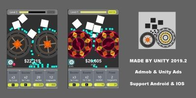 Idle Crush Complete Unity Project