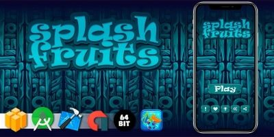 Splash Fruits - Buildbox Template