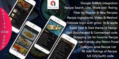 My Recipe - iOS App Template