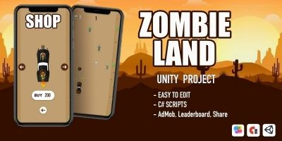 Zombie Land - Unity Project