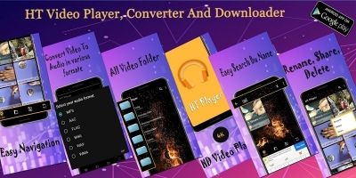 HD Video Player And Converter Android App