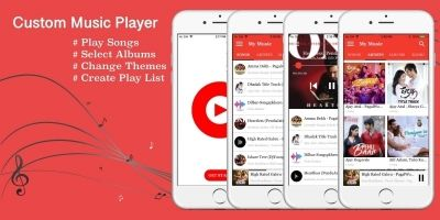 Music Player - iPhone App Template