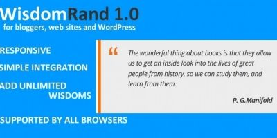 WisdomRand Script - JavaScript