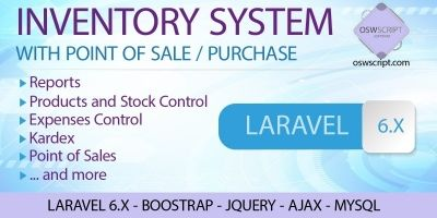 PHP Inventory Management System