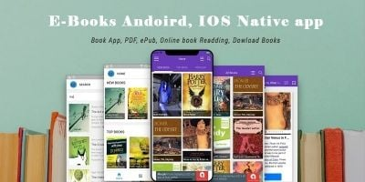 E-Books - Android And iOS App Template