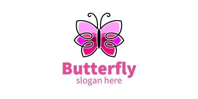 Butterfly Colors Logo 9