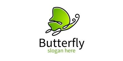 Butterfly Colors Logo 14