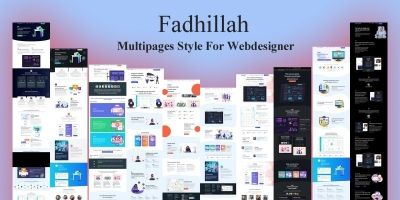 Fadhillah Multipages Bootstrap HTML5 Template